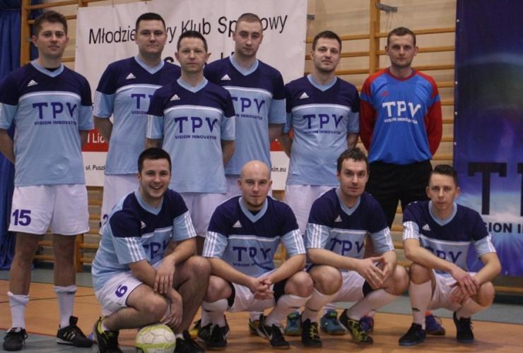 Drużyna piłkarska TPV Displays.