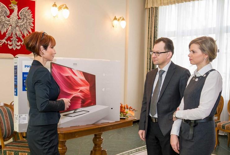 TV for Wedding Hall.